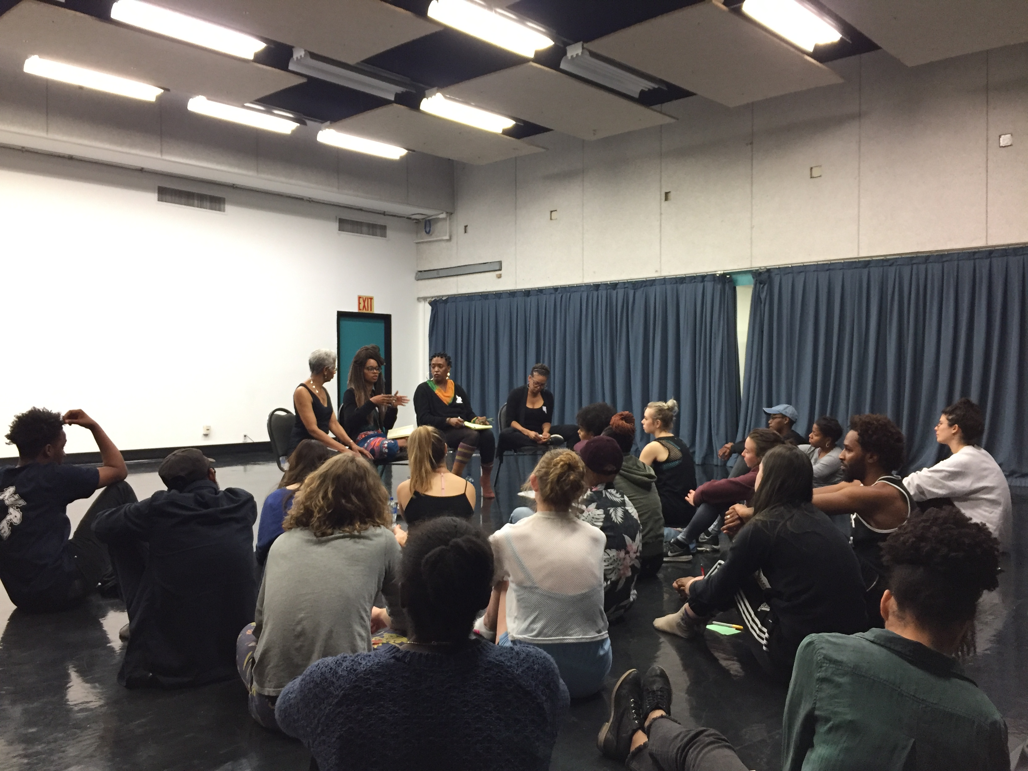 ArtChangeUS@CalArts Activism Through Movement: A Workshop in