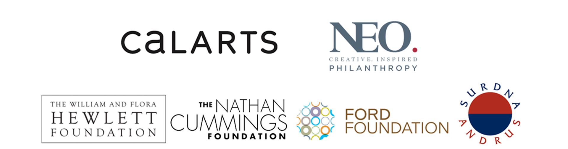 ArtChangeUS National Funders