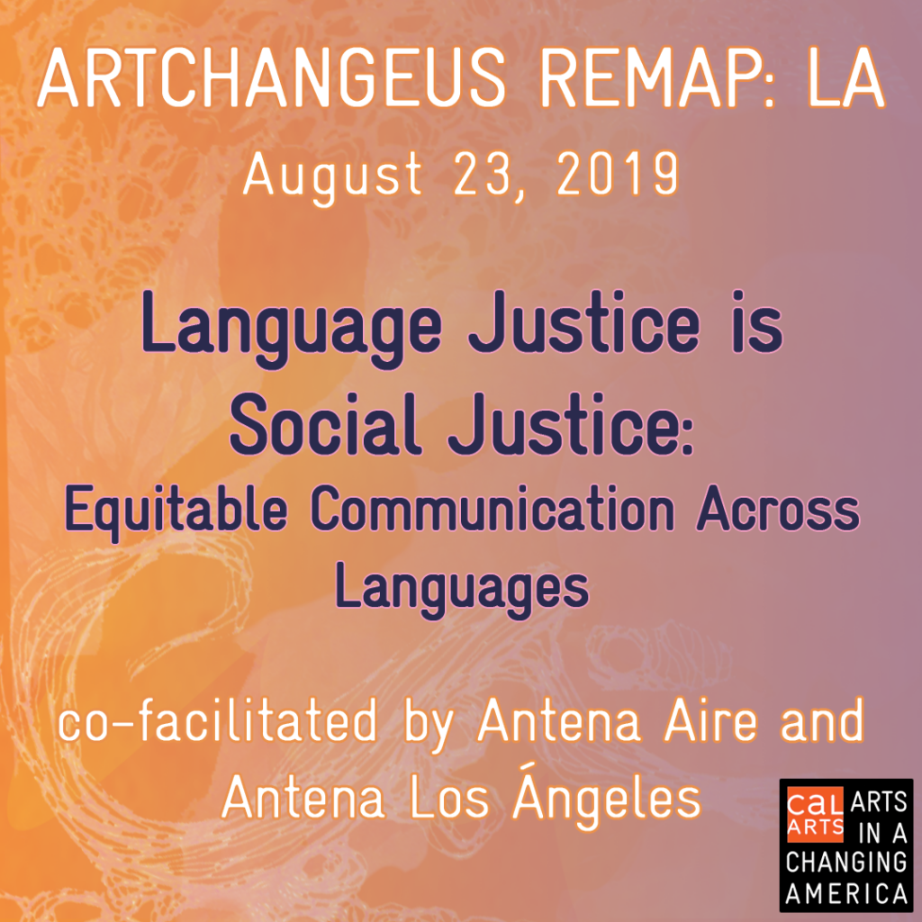 Language Justice is Social Justice